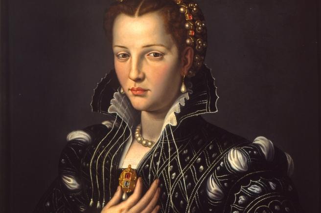 Lucrezia de' Medici (1545-1561) Alessandro Allori Italian 1535-1607